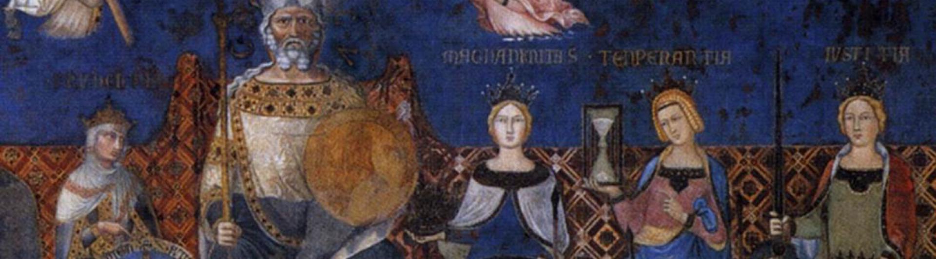 Ambrogio_Lorenzetti Allegorie op goed bestuur